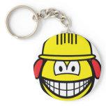 Builder smile   keychains