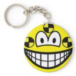 Crash test dummy smile   keychains
