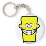 Pint of smile   keychains
