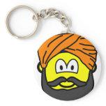 Sikh buddy icon   keychains