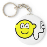 Plugged in buddy icon   keychains
