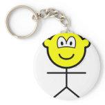 Stickfigure buddy icon man  keychains