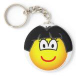Dora emoticon   keychains