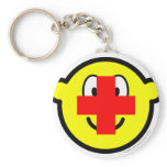 Red cross buddy icon   keychains