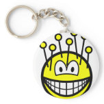 Pincushion smile   keychains