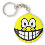 Tired smile   keychains