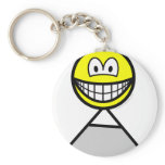 Mountaineer smile   keychains