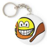Caveman smile   keychains