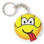 Dog emoticon   keychains