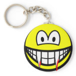 Vampire smile (after lunch)  keychains