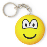 Fuzzy emoticon or emoticon after accidentally falling into the washing-machine  keychains