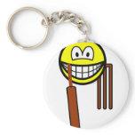 Cricket smile   keychains