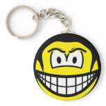 The Rock smile WWF  keychains