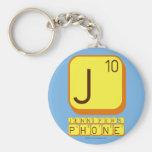 J JENNIFER'S PHONE  Keychains