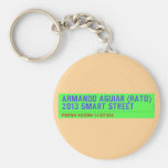 armando aguiar (Rato)  2013 smart street  Keychains