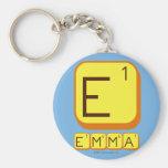 E EMMA  Keychains