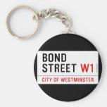Bond Street  Keychains