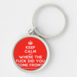 [Crown] keep calm and where the fuck did you come from?!  Keychains