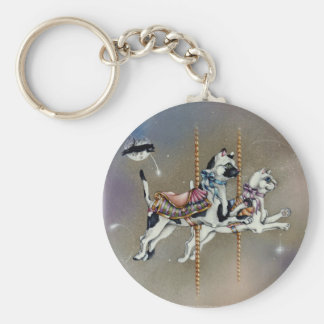 Keychains - Carousel Cats SQ