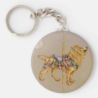 Keychains - Carousel Lion