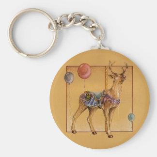 Keychains - Carousel Reindeer or Elk