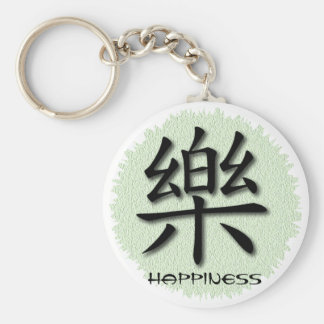 Keychains Chinese Happiness Symbol On Mat