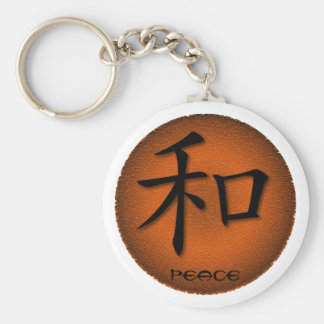 Keychains Chinese Symbol For Peace On Fire