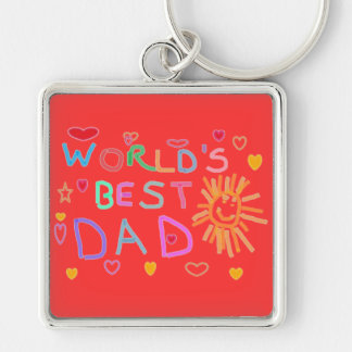 KEYCHAINS - FATHER'S DAY GIFTS - WORLDS BEST DAD
