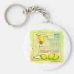 Keychains - Lemon Drop Martini