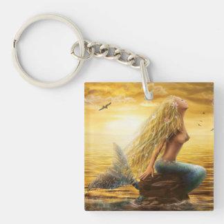 Keychains Mermaid Acrylic Keychains