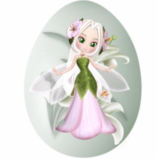 Keychains Photo Sculpture Fairy Flower In Egg Photo Sculptures