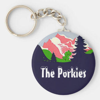 Keychains Vintage The Porkies Porcupine Mountains