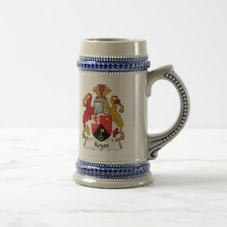Keyes Family Crest Coffee Mugs