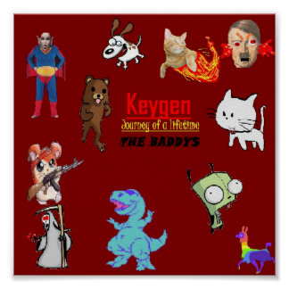 Keygen baddys poster