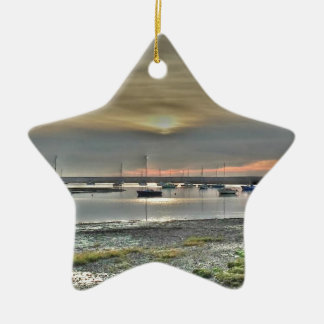 Keyhaven Marshes Ceramic Ornament