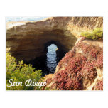 Keyhole At Sunset Cliffs Post Cards