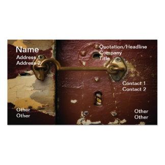 Keyhole Business Card