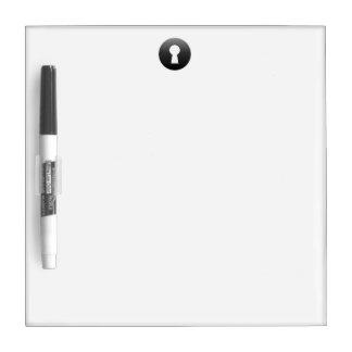 Keyhole Button Dry-Erase Board