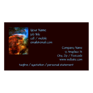 Keyhole Nebula and Digitus Impudicus Double-Sided Standard Business Cards (Pack Of 100)