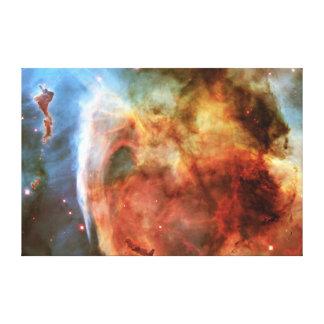 Keyhole Nebula Middle Finger of God Carina Nebula Canvas Print