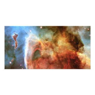 Keyhole Nebula Middle Finger of God Carina Nebula Photo Card Template