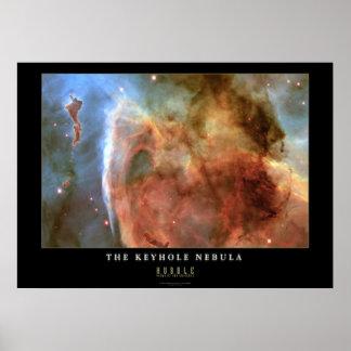 Keyhole Nebula Poster