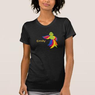 Keylime Parrot Black T-Shirt