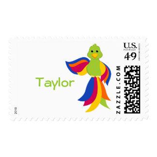 Keylime Parrot Postage