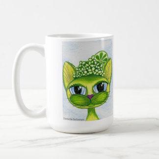 KeyLime, taza de café del gatito de la fantasía