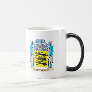 Keynes Coat of Arms - Family Crest 11 Oz Magic Heat Color-Changing Coffee Mug