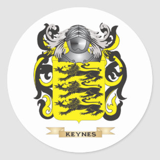 Keynes Coat of Arms (Family Crest) Stickers