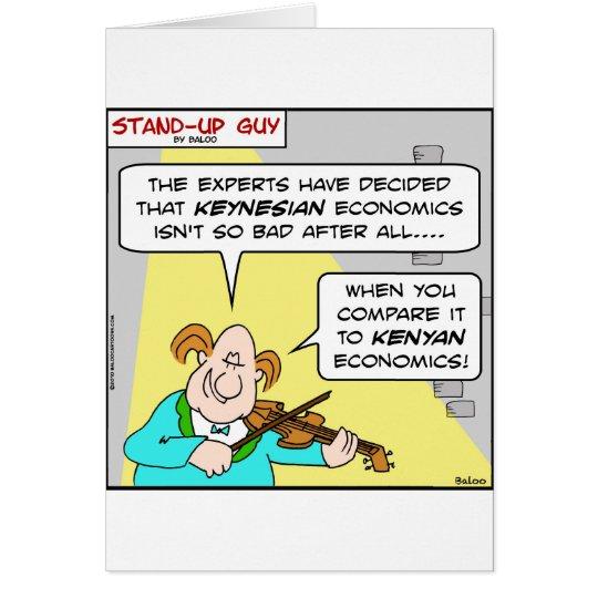 keynesian kenyan economics obama card