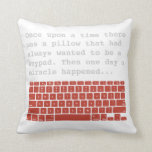 Keypad 2-sided pillow 1