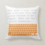 Keypad 2-sided pillow 3